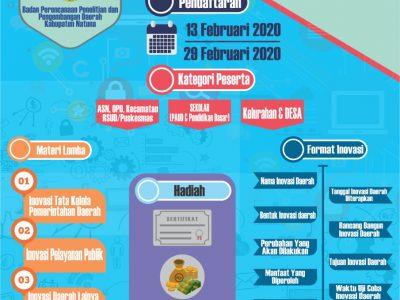 Lomba Inovasi Daerah 2020 Kabupaten Natuna